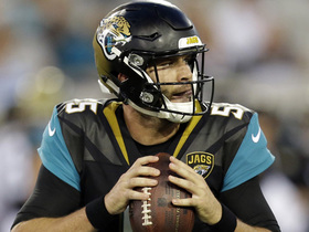 Watch: Blake Bortles misses two open Jaguars receivers on the same drive