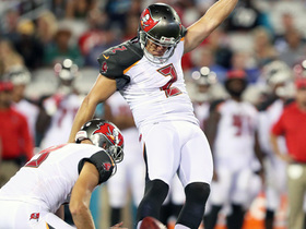 Watch: Roberto Aguayo's replacement misses field goal for Buccaneers