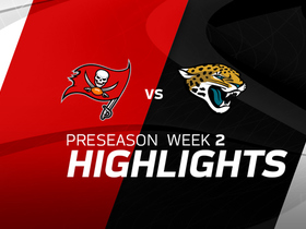 Watch: Buccaneers vs. Jaguars highlights | Preseason Week 2