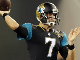 Watch: Willie McGinest: Chad Henne will be starting QB for Jaguars by Week 3