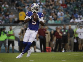 Watch: Nate Burleson: Tyrod Taylor didn't play well against the Eagles