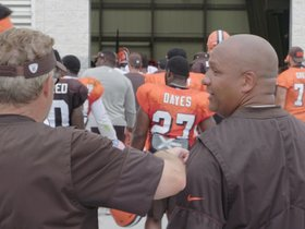 Watch: Browns Huddle: Final training camp practice is in the books