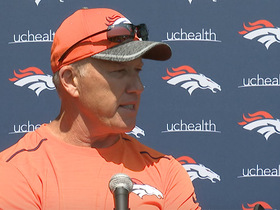 Watch: Elway: Broncos have seen progress this week from QBs