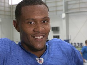 Watch: Golladay on getting first team reps