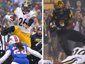 Watch: ASU's RB Kalen Ballage talks relationship with Le'Veon Bell