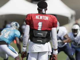 Watch: Pelissero: 'Cam Newton will not play against Titans'