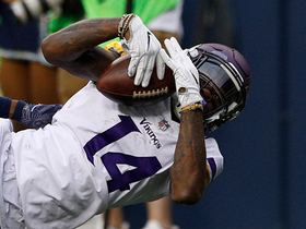 Watch: Every Stefon Diggs catch | Preseason Week 2