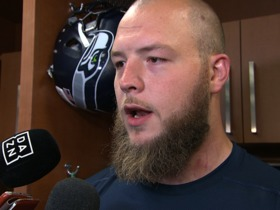 Watch: Justin Britt: I support Michael Bennett's decision to sit during National Anthem