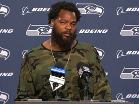 Watch: Michael Bennett: Sitting during National Anthem is part of a 'long-term fight'