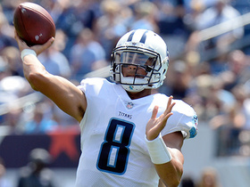Watch: WHEELS! Marcus Mariota scrambles up the middle for first down