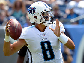 Watch: Marcus Mariota throws over the middle to Taywan Taylor for 20 yards