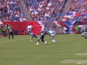 Watch: Tre McBride brings it in for 23 yards while falling backward