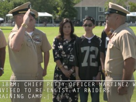 Watch: Random Acts of Kickoff: Chief Petty Officer Martinez