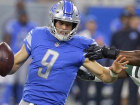 Watch: Demario Davis sacks Matthew Stafford for a loss of 11 yards