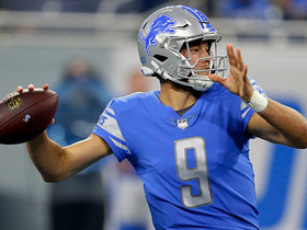 Watch: Matthew Stafford throws deep to Golden Tate for 18 yards