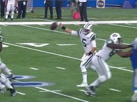 Watch: Ball slips out of Christian Hackenberg's hand mid-throw