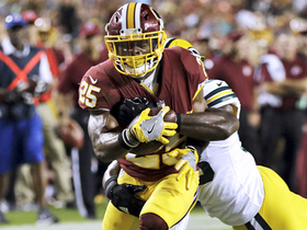 Watch: Chris Thompson hauls in a nice pass from Kirk Cousins for 29 yards