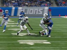 Watch: Lions Robert Tonyan recovers Jets' muffed punt