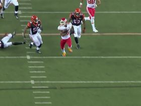 Watch: Charcandrick West with a spectacular rush