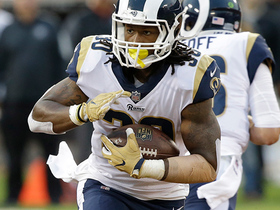 Watch: Gurley has a nice run for 12 yards