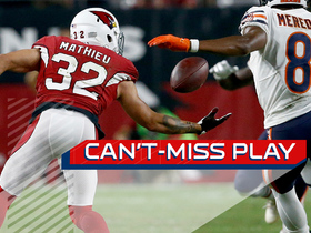 Watch: Can't Miss Play: Tyrann Mathieu picks off pass and returns for big gain