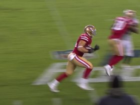 Watch: Kyle Juszczyk jukes defender, turns short pass into 21-yard gain