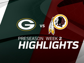 Watch: Packers vs. Redskins highlights | Preseason Week 2