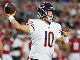 Watch: Mitchell Trubisky connects with Benny Cunningham for touchdown