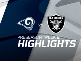 Watch: Rams vs. Raiders highlights | Preseason Week 2