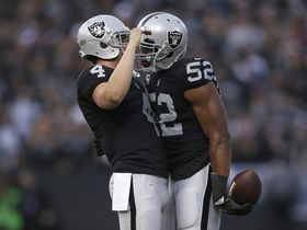Watch: Derek Carr: Arm around Khalil Mack during National Anthem intended to 'unify people'