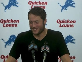 Watch: Stafford on chemistry with receivers
