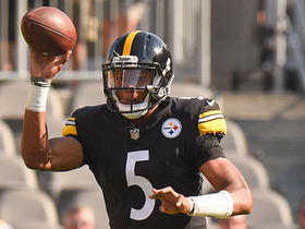 Watch: Joshua Dobbs avoids big loss with impressive spin move, gallops out of bounds