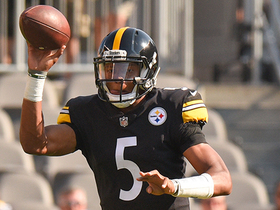 Watch: Joshua Dobbs flips to Quincy Mauger for the interception