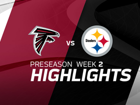 Watch: Falcons vs. Steelers highlights | Preseason Week 2