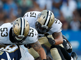 Watch: Manti Te'o tackles for loss causing near safety