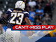 Watch: Can't-Miss Play: Chargers' pick six goes 99 YARDS