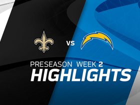 Watch: Saints vs. Chargers highlights | Preseason Week 2