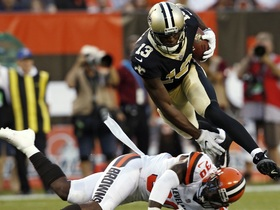 Watch: Nate Burleson: Michael Thomas is ready to step into the WR1 role
