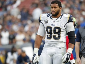 Watch: Peter Schrager: At some point Aaron Donald needs to show up