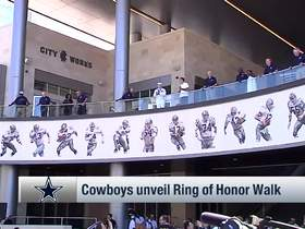 Watch: Cowboys unveil Ring of Honor Walk