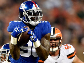Watch: Jason Pierre-Paul intercepts tipped ball