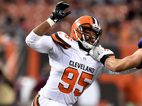 Watch: Myles Garrett gets his first sack in preseason