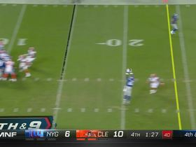 Watch: Browns bring all-out blitz, force turnover on downs