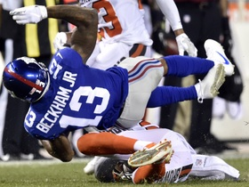 Was the hit on Odell Beckham legal?