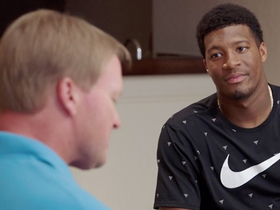 Watch: Jameis Winston meets with Rex Ryan, Jon Gruden on 'Hard Knocks'