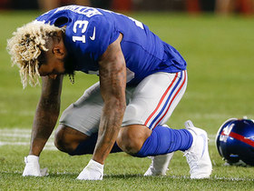 Watch: Rapoport: Odell Beckham Jr. believed to have minor sprained ankle