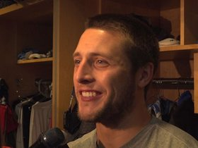 Watch: Zenner on running back progression