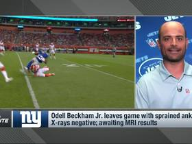 Watch: Garafolo: For Giants, great sense of relief around Odell