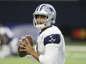Watch: Dak Prescott goes deep to Terrance Williams at Cowboys practice