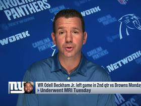 Watch: Ian Rapoport: OBJ and Marshall will be 'fine'